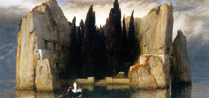 L'isola dei morti (Die Toteninsel) di Arnold Böcklin