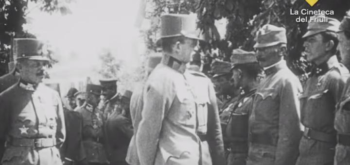 Visita dell'imperatore Carlo I a Trieste, giugno 1917